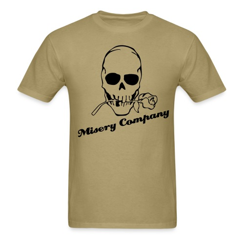 Misery Rose (Khaki) - Men's T-Shirt