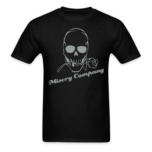 Misery Rose (Black) - Men's T-Shirt