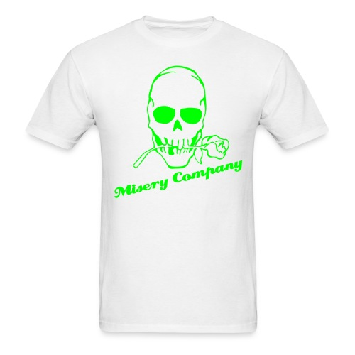 Misery Rose (White) - Men's T-Shirt