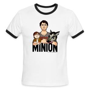 Misha Collins [Minion] (DESIGN BY KARINA) - Men's Ringer T-Shirt