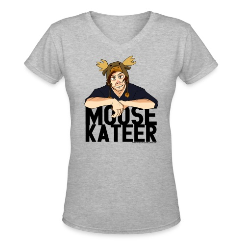 Jared Padalecki [Moosekateer] (DESIGN BY KARINA) - Women's V-Neck T-Shirt