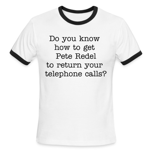 Return Calls - Men's Ringer T-Shirt