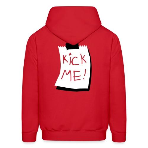 Kick Me! Mens Sweatshirt - Men's Hoodie