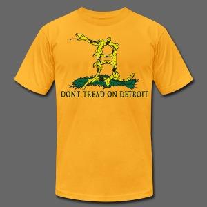 Dont Tread on Detroit Men's T-Shirt by American Apparel - Men's Fine Jersey T-Shirt