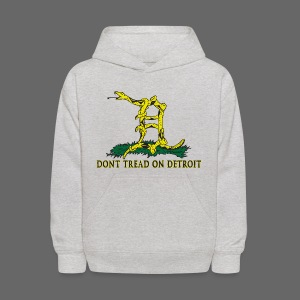 Dont Tread on Detroit - Kids' Hoodie
