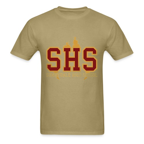 Men's T-Shirt - Sunnydale High School, Go Razorbacks!