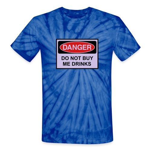 The Drunk Guy - Unisex Tie Dye T-Shirt