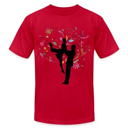 Colorful Tango - Mens - Men's  Jersey T-Shirt