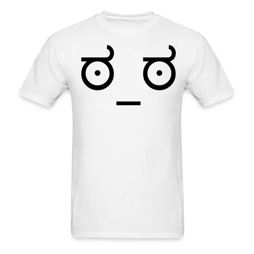 Look of Disapproval - Men's T-Shirt