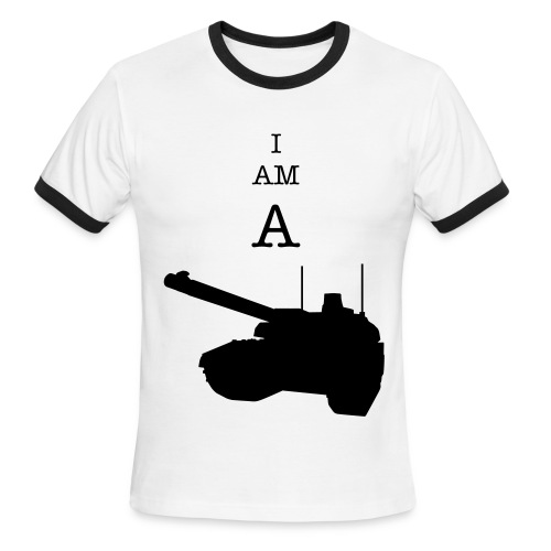 I AM A TANK!! - Men's Ringer T-Shirt