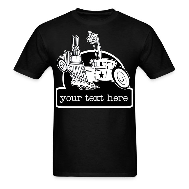 Personalized Hot Rat Rod Garage Shirt