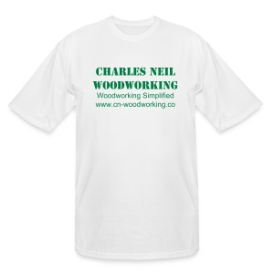 Men's Tall - Charles Neil Woodworking Basic Tee - Men's Tall T-Shirt