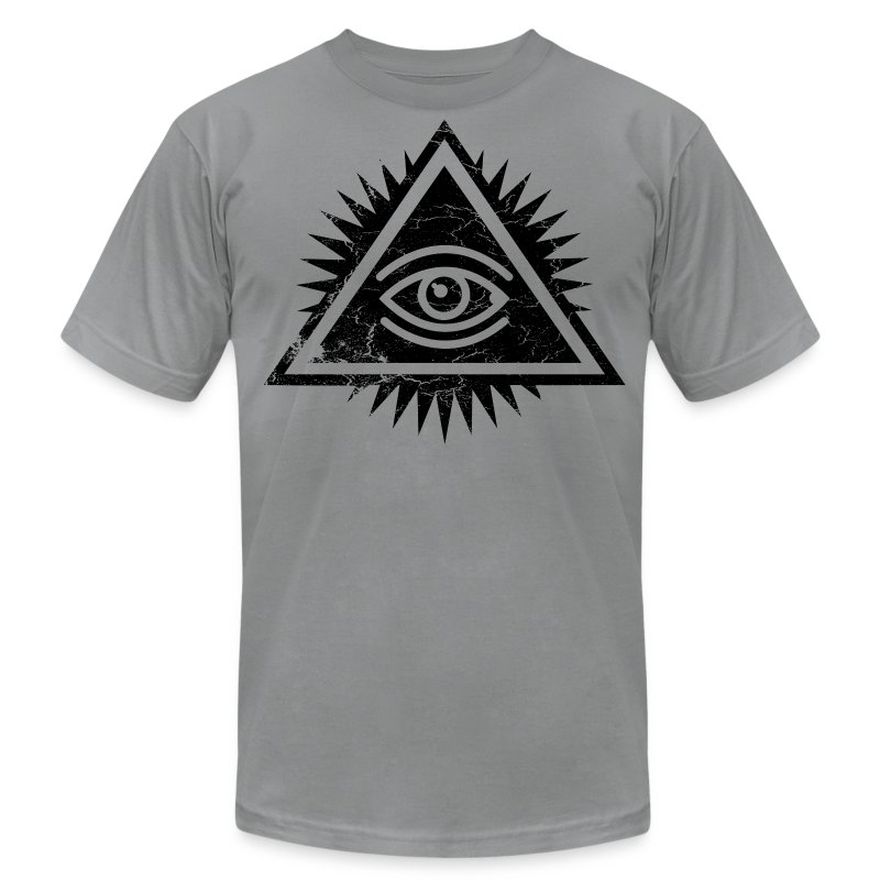 eye of providence logo by ctrl z clothing t shirt