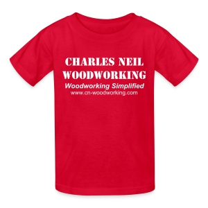 Child's XS-L - Charles Neil Woodworking Sneakin' Tee - Kids' T-Shirt
