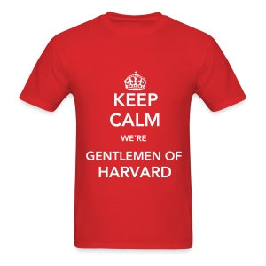 Gentlemen of Harvard Standard Men's - Men's T-Shirt