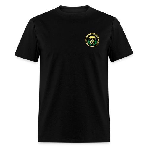 Air Crew Flight Rescue AIR FORCE RESCUE black - Men's T-Shirt