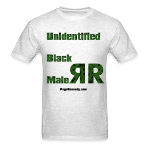 Unidentified Black Male - Men's T-Shirt