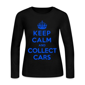 [SJ] Keep Calm & Collect Cars - Women's Long Sleeve Jersey T-Shirt