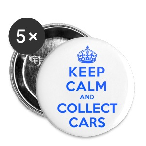 [SJ] Keep Calm & Collect Cars (Smaller) - Small Buttons