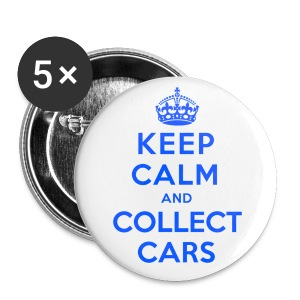 [SJ] Keep Calm & Collect Cars - Large Buttons