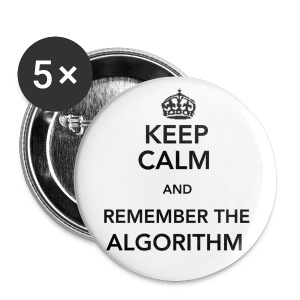Remember the Algorithm Buttons - Large Buttons