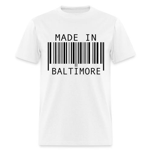 Made in Baltimore  - Men's T-Shirt