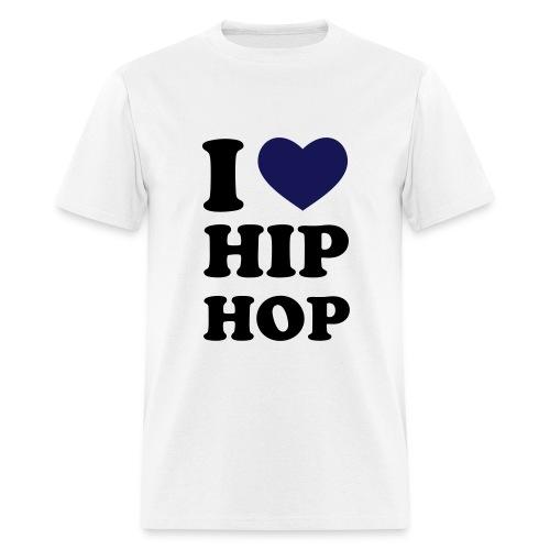 Gullynomics I love Hip Hop - Men's T-Shirt