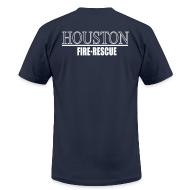 T-Shirts ~ Men's T-Shirt by American Apparel ~ Houston Fire Rescue