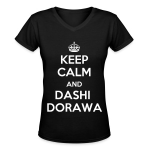 Infinite - keep calm - Women's V-Neck T-Shirt