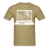 T-Shirts ~ Men's T-Shirt ~ Lawyer Up Unisex V-Neck
