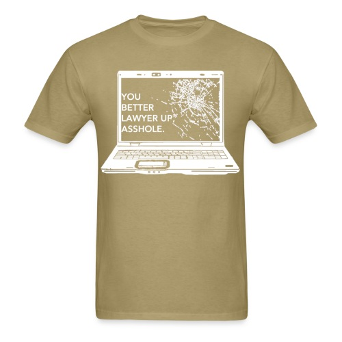 Lawyer Up Unisex V-Neck - Men's T-Shirt