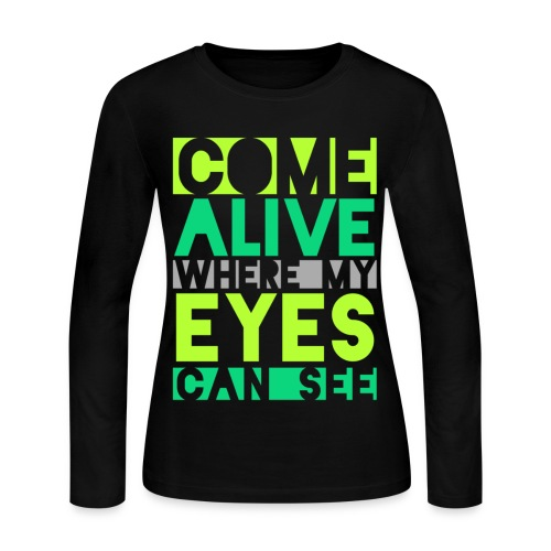 [CLZQ] Come Alive - Women's Long Sleeve Jersey T-Shirt