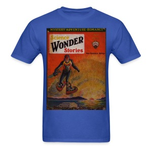 Science Wonder Stories April 1930 - Men's T-Shirt
