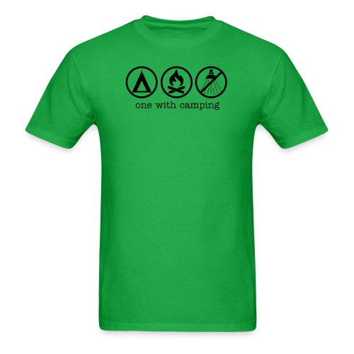One With Camping - Men's T-Shirt