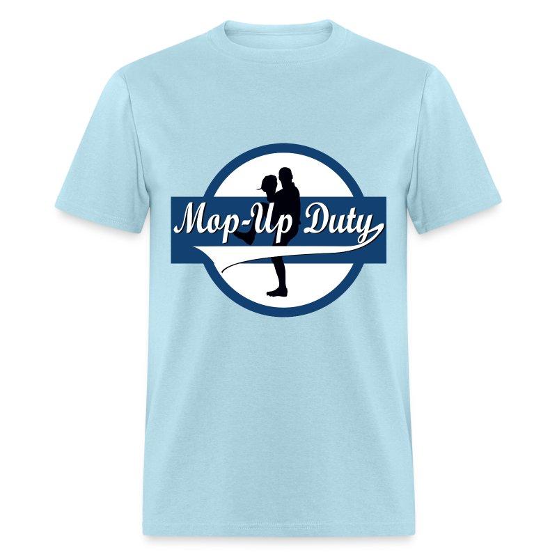 Mop-Up Duty Logo, Standard T-Shirt - Men's T-Shirt