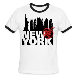 New York Ringer T-Shirt - Men's Ringer T-Shirt