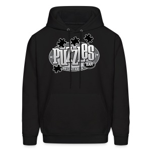 Puzzles Bar Men's Hooded Sweatshirt - Men's Hoodie