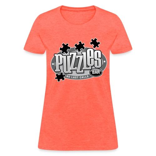 Puzzles Bar Women's Standard Weight T-Shirt - Women's T-Shirt
