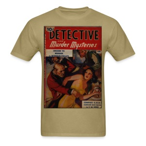 Detective and Murder Mysteries - Men's T-Shirt