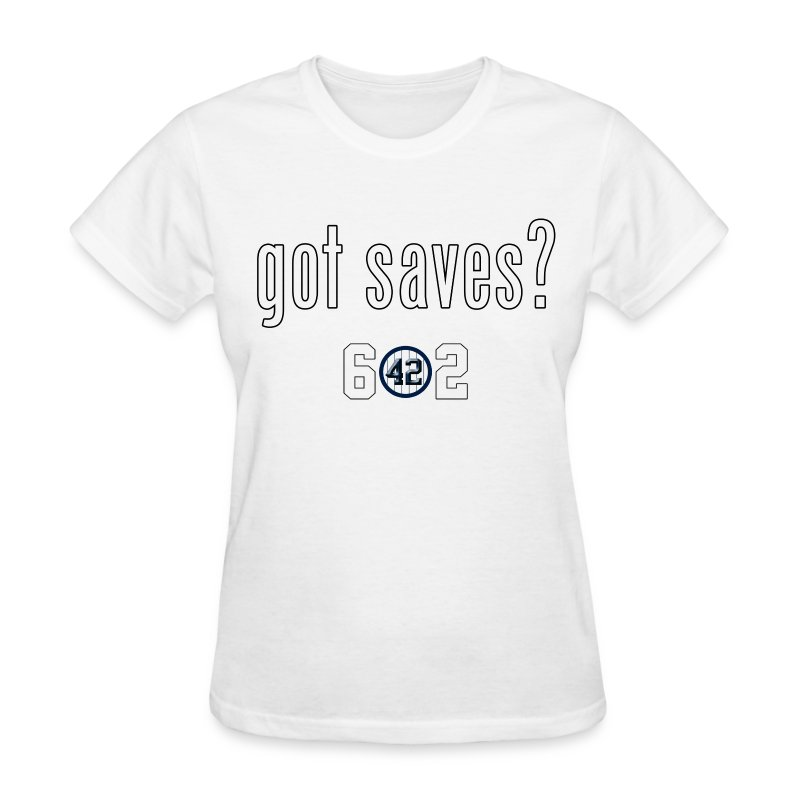 Mariano Rivera Style 602 Got Saves Shirt - Womens Deep Gray - Women's T-Shirt