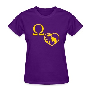 A Que's Heart - Women's T-Shirt