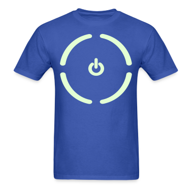 Glow in the Dark Power Button Shirt