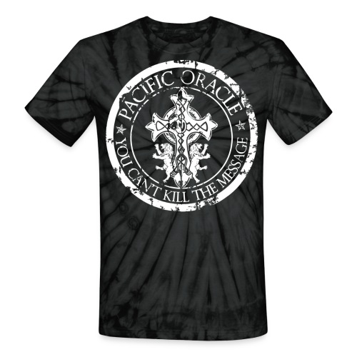 Pacific Oracle Logo Seal - Unisex Tie Dye T-Shirt