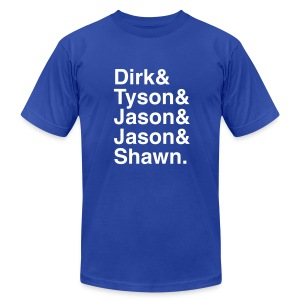 Dallas Mavericks 2011 - Men's T-Shirt by American Apparel