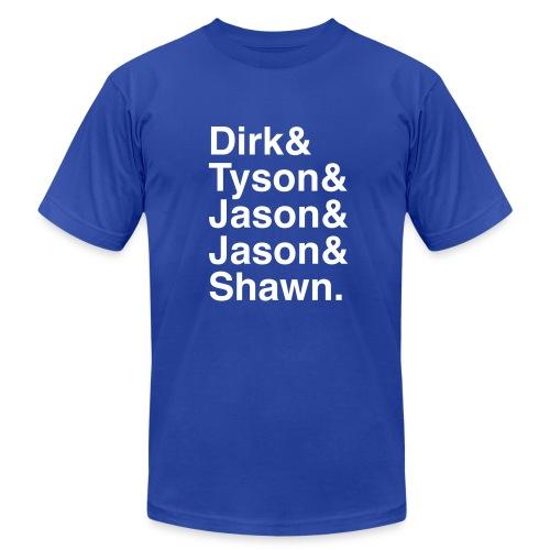 Dallas Mavericks 2011 - Men's Fine Jersey T-Shirt