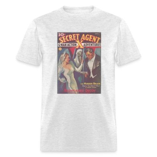 Secret Agent X 4/37 - Men's T-Shirt