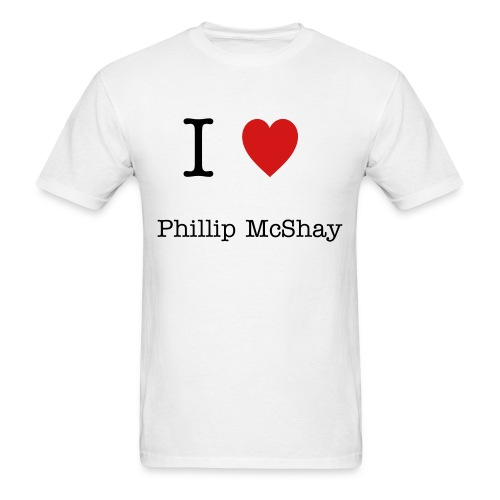 I Heart Phillip Shirt - Men's T-Shirt