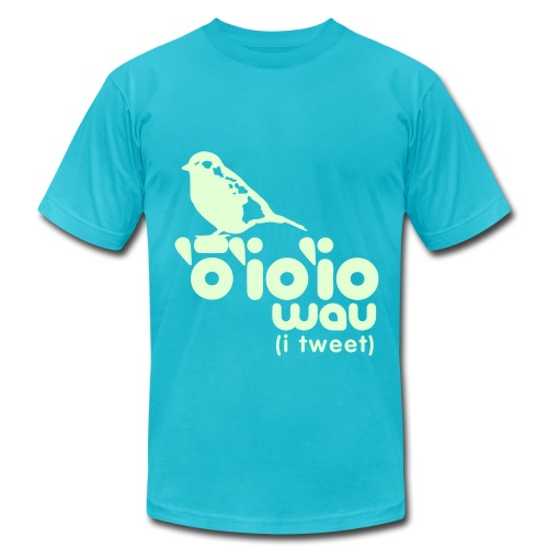 (Hawaiian) Twitter - Men's Fine Jersey T-Shirt