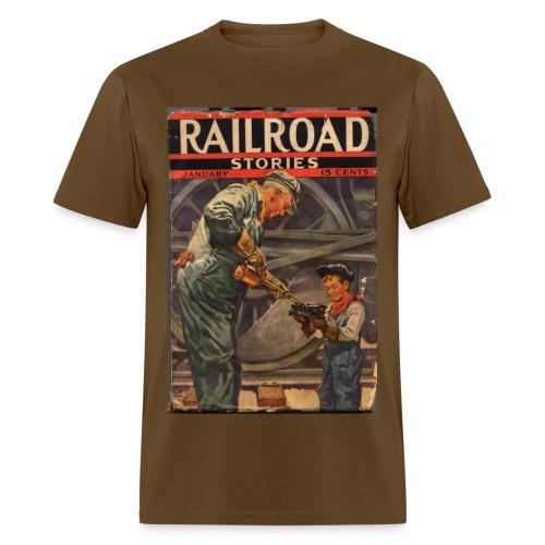 Railroad Stories 1/37 - Men's T-Shirt