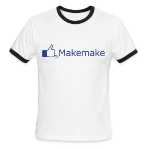 (Hawaiian) Facebook Like - Men's Ringer T-Shirt